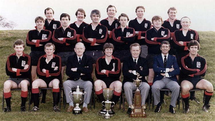 Rainey OB Towns Cup Winners 1983